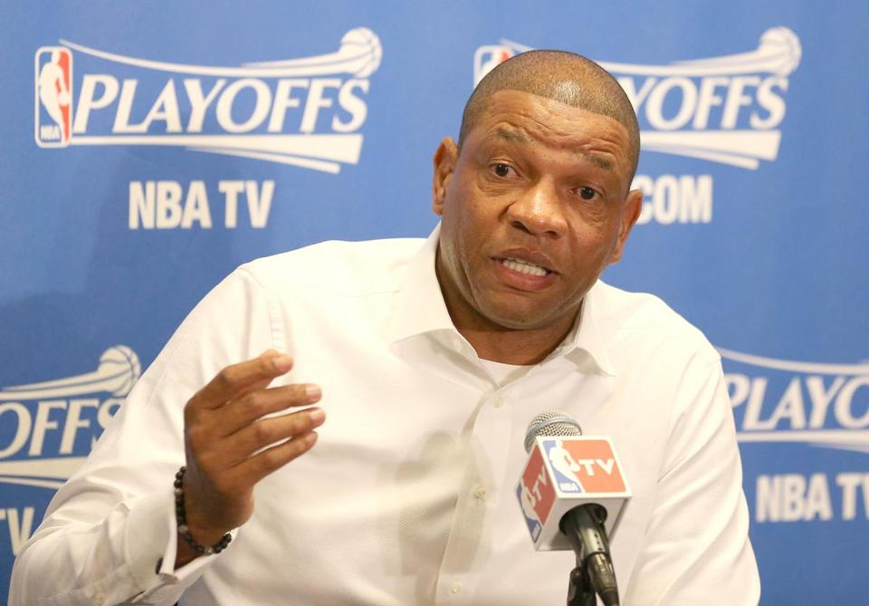 "Could Doc Rivers work for Donald Sterling if the owner somehow remained in control of the Clippers? ""I don't think he will be,"" Rivers said. ""I think that's clear."""